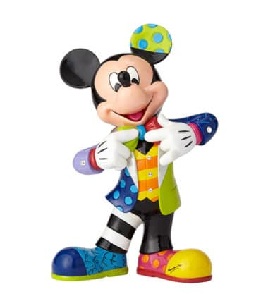 Britto Disney Mickey Mouse 90th Anniversary Large Figurine